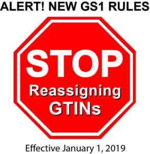 No GTIN Reuse